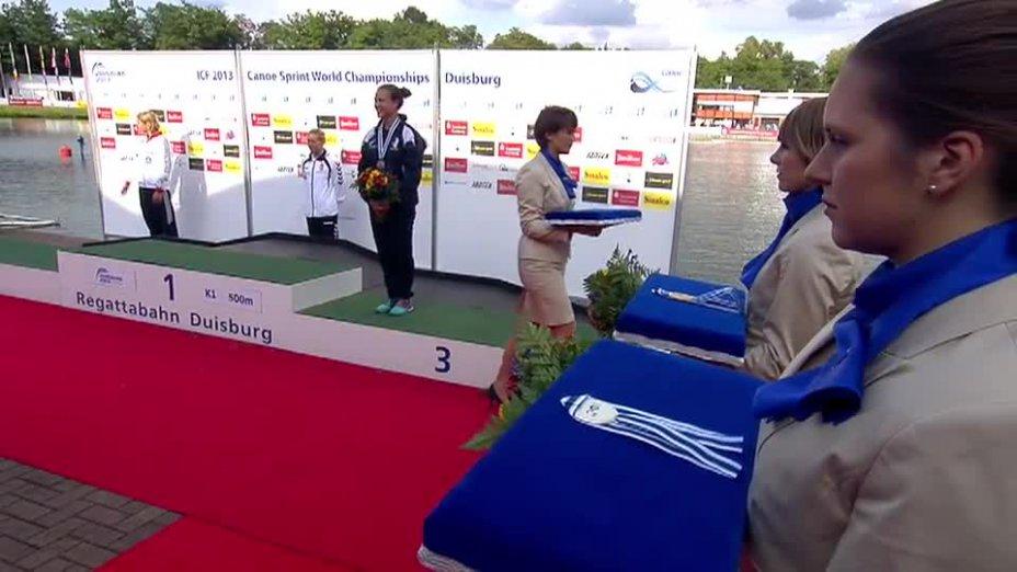 Wagner-Augustin O-Ton - K1 500m SILBER - Kanu WM 2013 Duisburg
