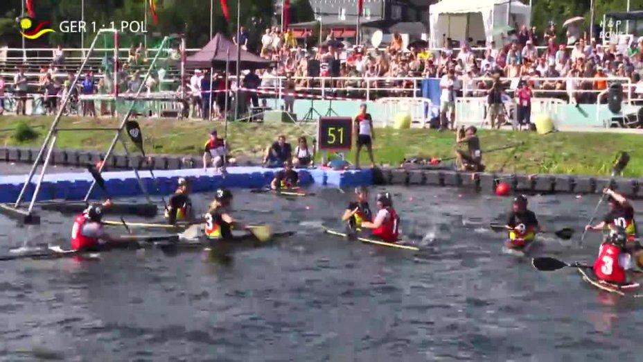 Kanupolo EM Finale Damen U21