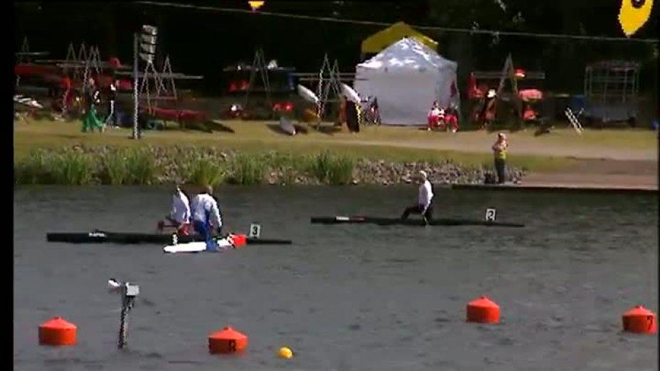 Kanu-Rennsport Weltcup 2011 Duisburg / Sprint C1 Men 1000m Final