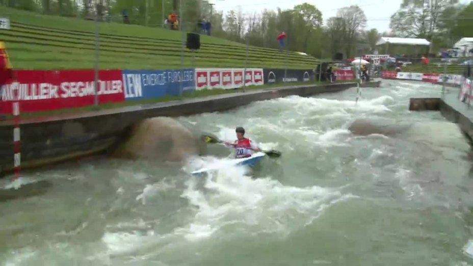 Florian Franzl - Quali 2015 |Rennen 4|K1-Herren-Finale / Augsburg