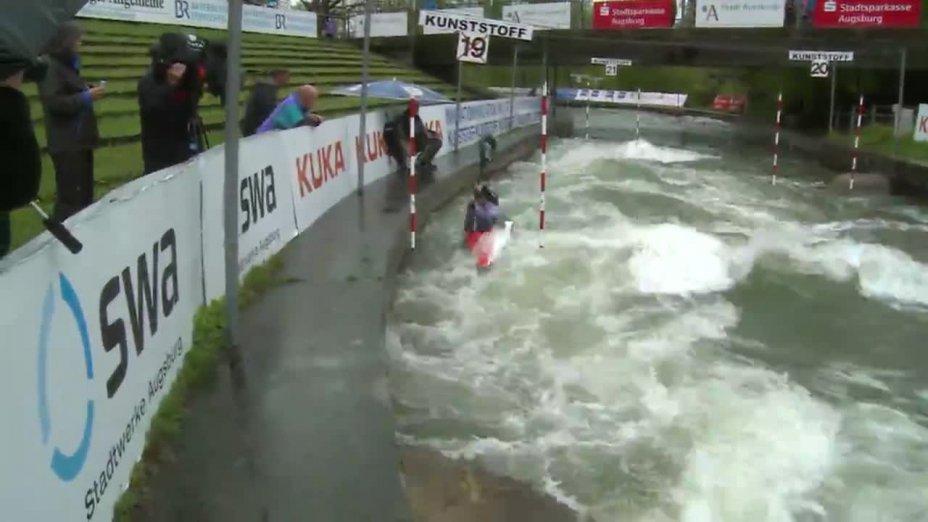 Lisa Fritsche - Quali 2015 |Rennen 4|K1-Damen-Finale / Augsburg