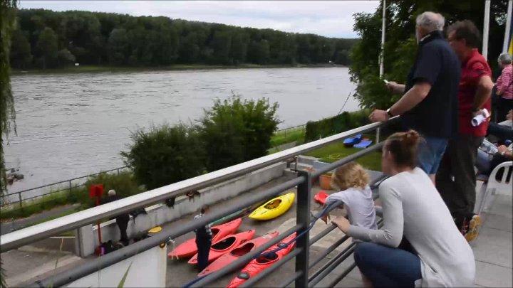 Tag des offenen Bootshauses beim Post SV Bonn
