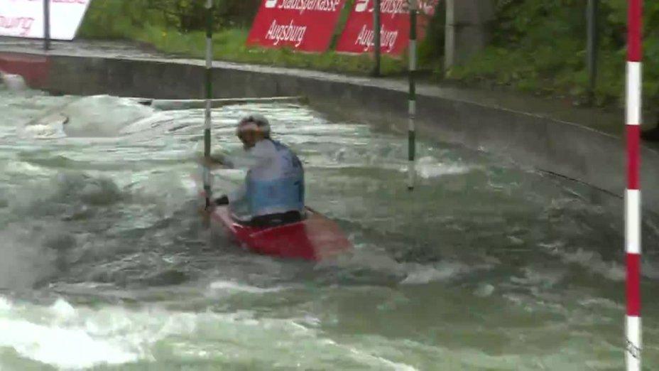 Franz Anton - Quali 2015 |Rennen 4|C1-Herren-Finale / Augsburg