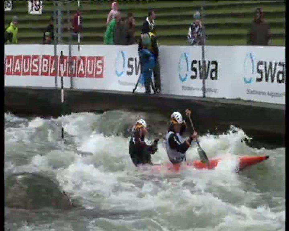 Becker / Henze Olympia-Quali 2012 A-Finale C2 22.04.2012