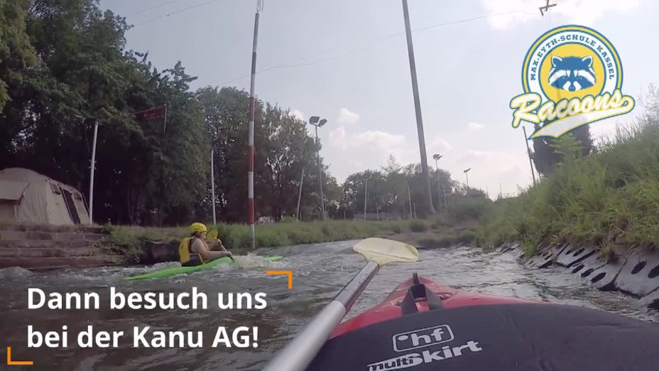 Ausflug der Kanu AG nach Sömmerda im August 2019