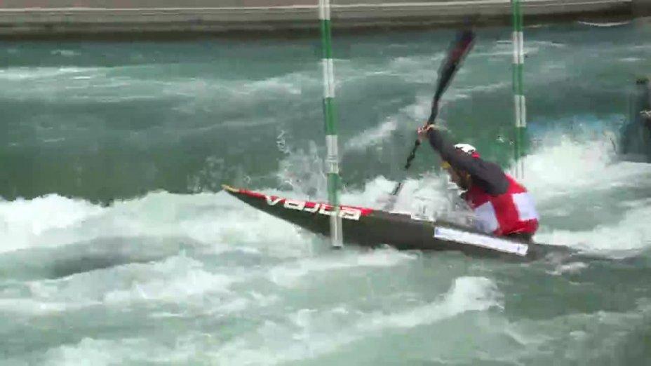 Hannes Aigner - Quali 2015 |Rennen 2|K1-Herren-Finale / Markkleeberg
