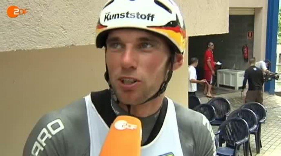 ZDF SPORTreportage vom 12. Juni 2011- Kanu-Slalom-EM  Deutsche gehen leer aus