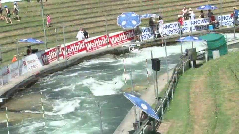 C1 Herren Finale - Deutsche Kanu-Slalom Meisterschaft 2013