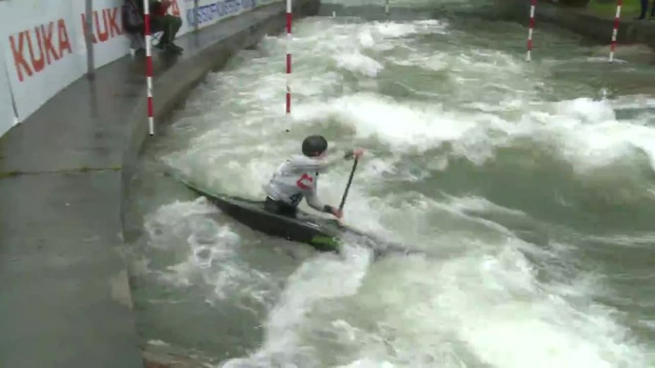 Kira Kubbe - Quali 2015 |Rennen 4|C1-Damen-Finale / Augsburg