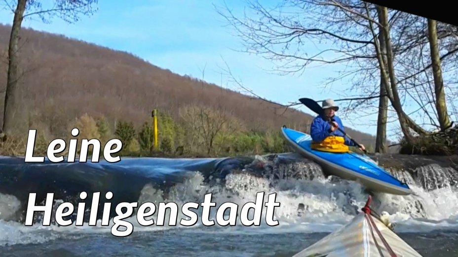 Kanutour von Heiligenstadt bis Arenshausen, obere Leine.