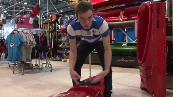 Bootstransport leicht gemacht: Teilbares Kanu für den Kofferraum!