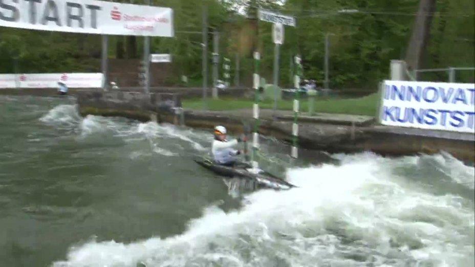 Anna Faber - Quali 2015 |Rennen 3|K1-Damen-Finale / Augsburg