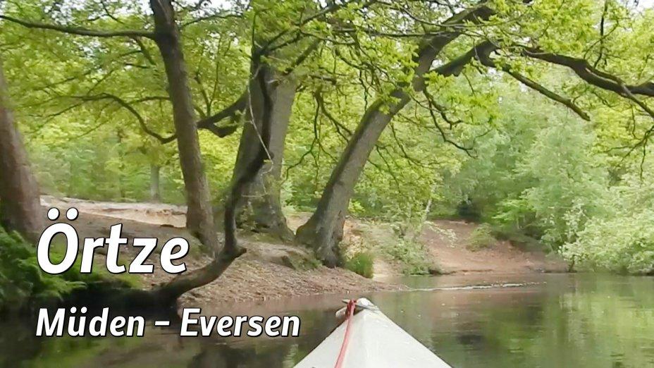 Heidefluss Oertze, von Müden bis Eversen, Teil 1