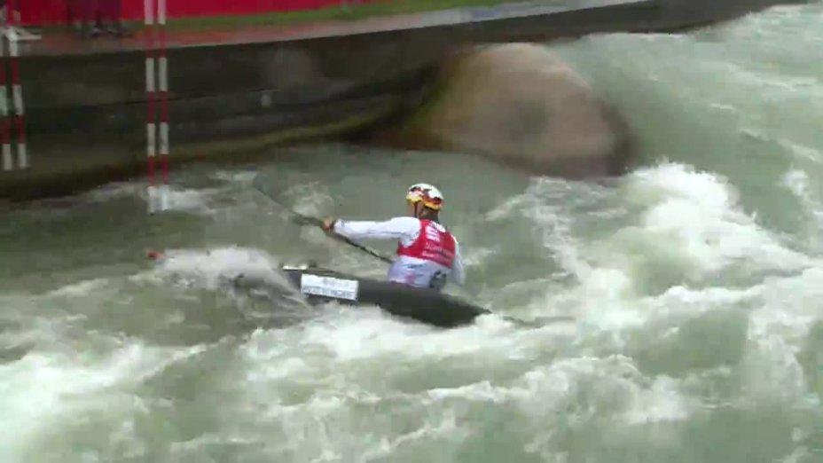 Sebastian Schubert - Quali 2015 |Rennen 4|K1-Herren-Finale / Augsburg