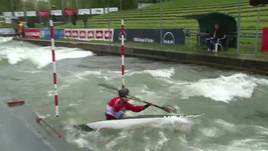 Laurenz Laugwitz - Quali 2015  Rennen 4 K1-Herren-Finale / Augsburg