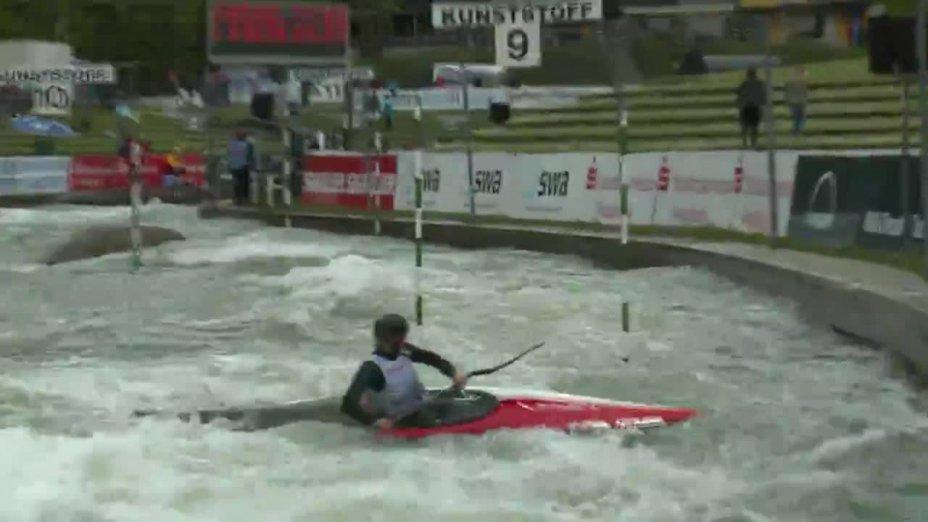 Lisa Fritsche - Quali 2015 |Rennen 3|K1-Damen-Finale / Augsburg
