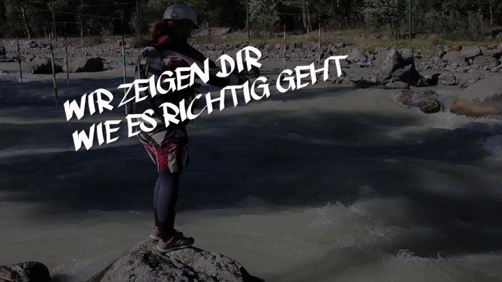 Sicherheitslehrgang Wildwasser 2016 am Augsburger Eiskanal - Teaser