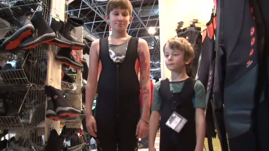 Die Erstausrüstung für Luca und Leon