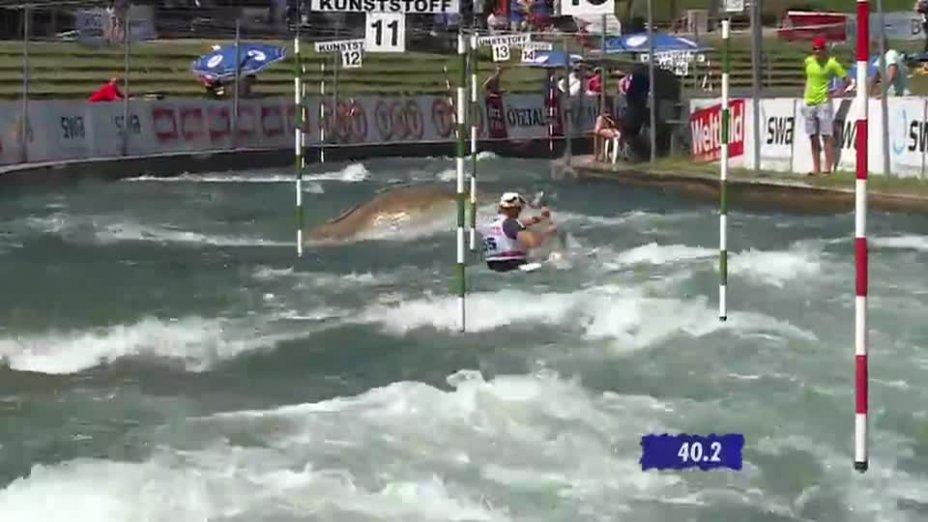 K1 Herren Finale - Deutsche Kanu-Slalom Meisterschaft 2013