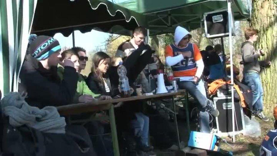 Westdeutsche Kanufreestyle Meisterschaft auf der Erft 19.03.2011