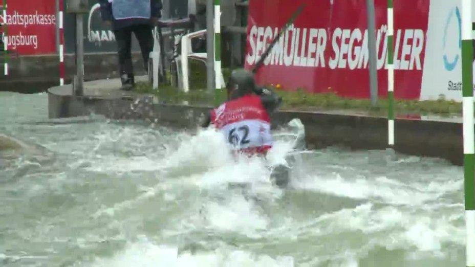 Fabian Schweikert - Quali 2015  Rennen 3 K1-Herren-Finale / Augsburg