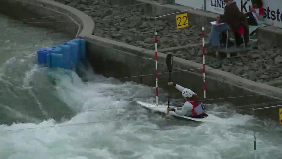 Caroline Trompeter - Quali 2015 |Rennen 2|K1-Damen-Finale / Markkleeberg