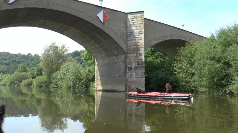 LAHN-Kanutour 2016: von Runkel nach Limburg - Clip 3