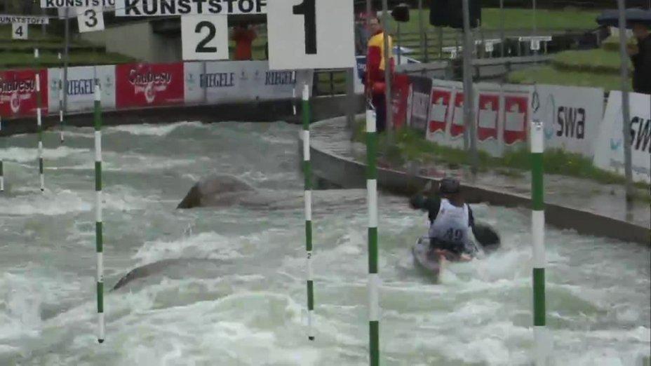 Rebecca Plonka - Quali 2015  Rennen 4 K1-Damen-Finale / Augsburg