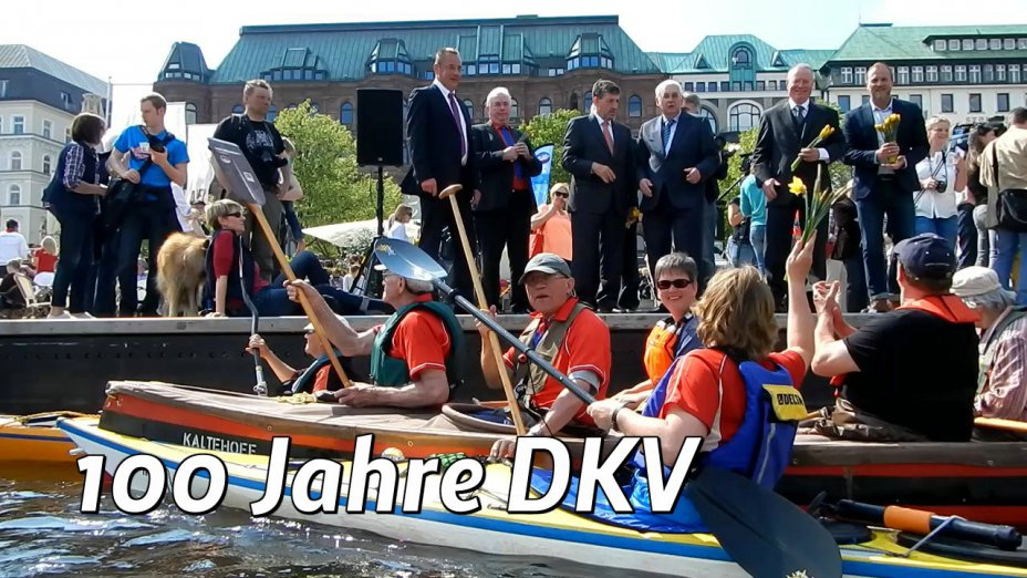Sternfahrt in Hamburg: 100 Jahre DKV