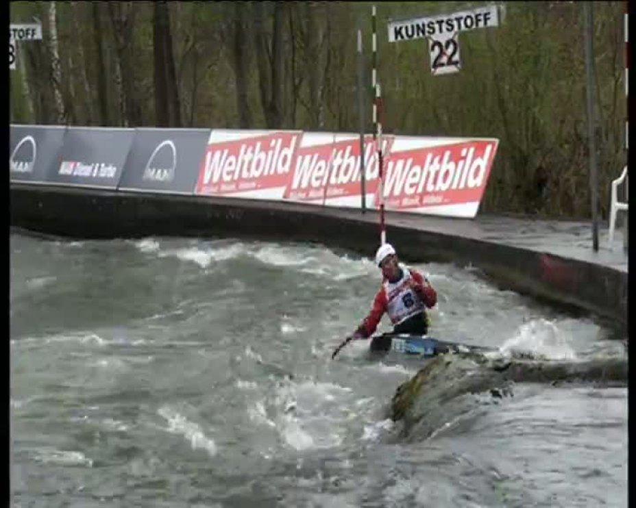Florian Mannheim Olympia-Quali 2012 A-Finale C1 22.04.2012