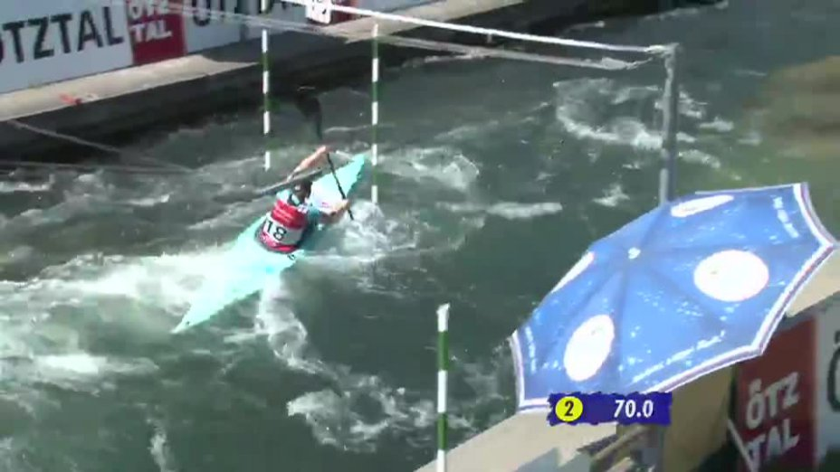 K1 Damen Finale - Deutsche Kanu-Slalom Meisterschaft 2013