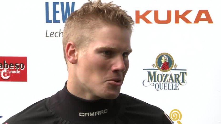 Paul Böckelmann im Interview beim Weltcup 2013 in Augsburg
