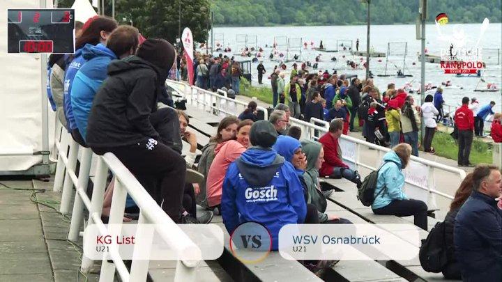 DM 2017 - U21 KG List vs WSV Osnabrück