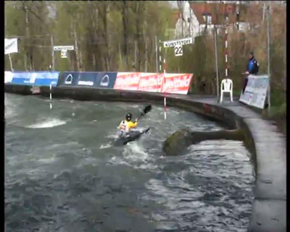 Stefanie Horn Olympia-Quali 2012 A-Finale K1D 22.04.2012