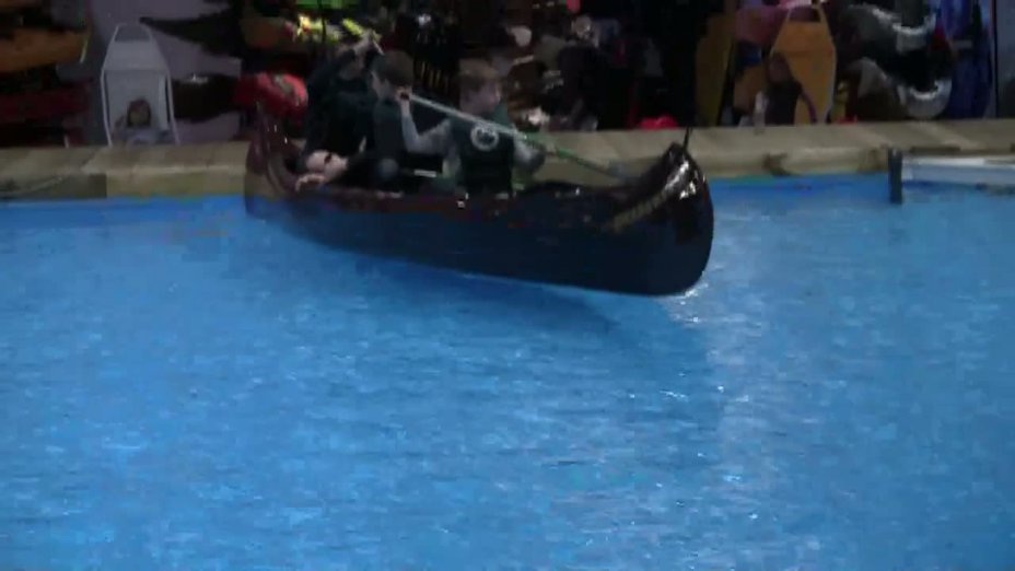Schnupperpaddeln auf der boot 2011